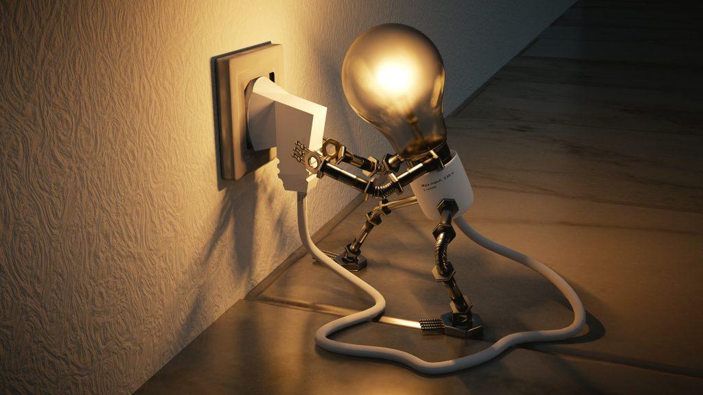 Licht für die Steckdose