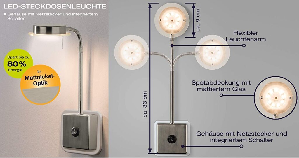 Trango LED Lampe